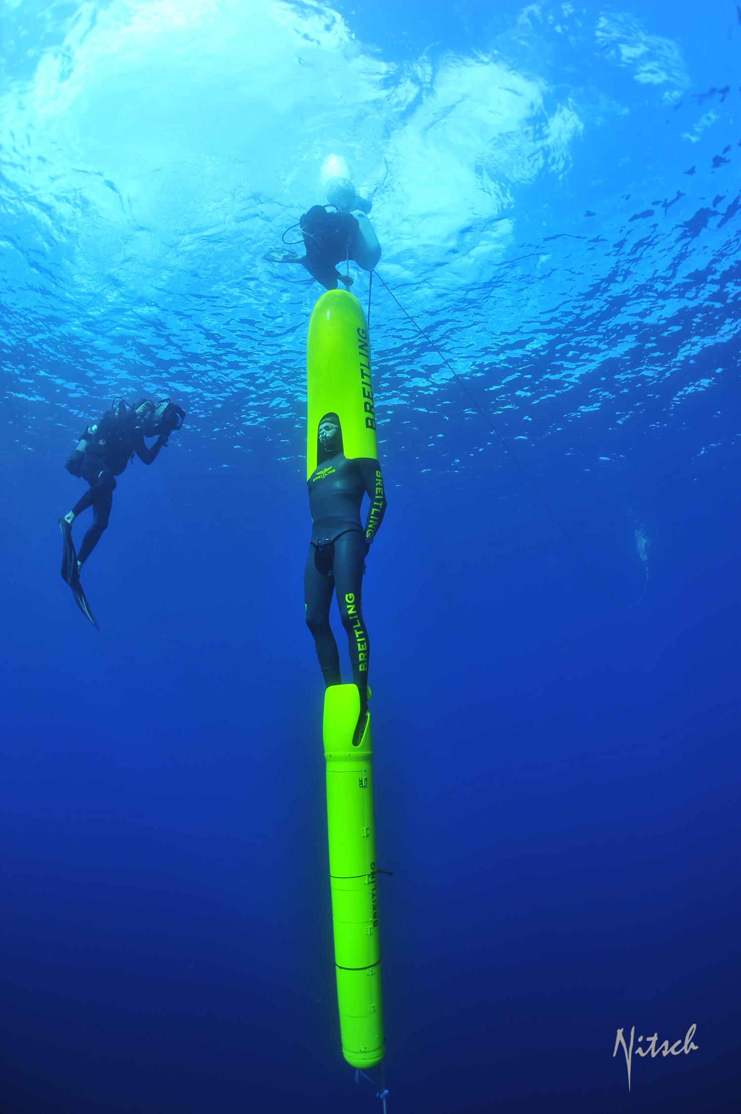 Champion Free Diving: ONE LEG, ONE BREATH: 4X Paralympic Champion Wojtek CZYZ